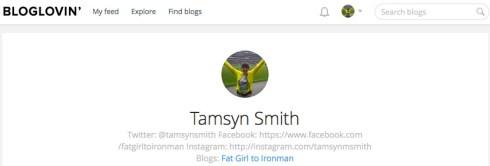 Bloglovin' screenshot