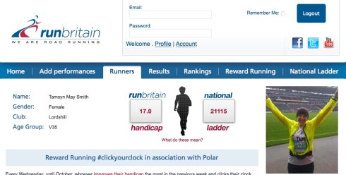 RunBritain screenshot