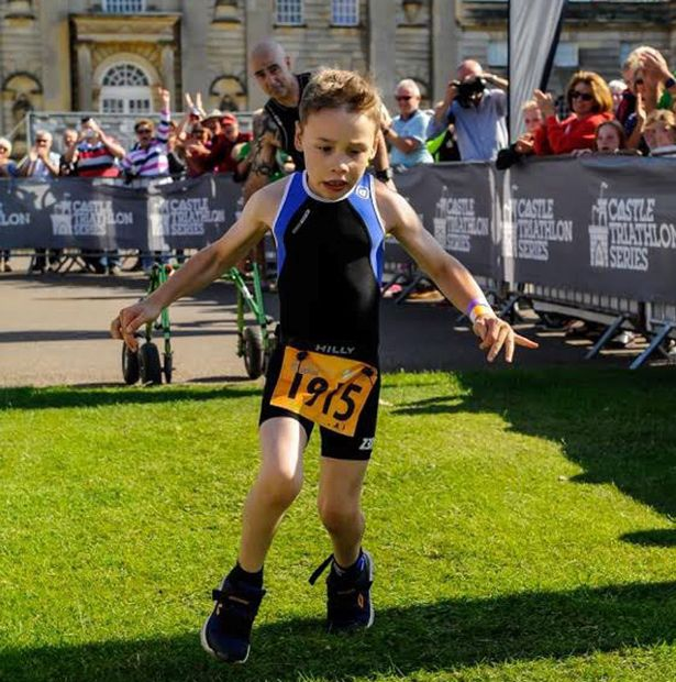 Bailey Matthews running.
