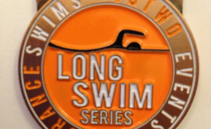 Salty Sea Dog Long Swim medal