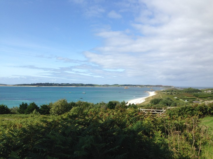 The view towards Tresco fomr St Martin's