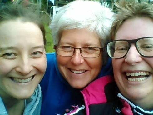 Liz and Sue Winchester triathlon