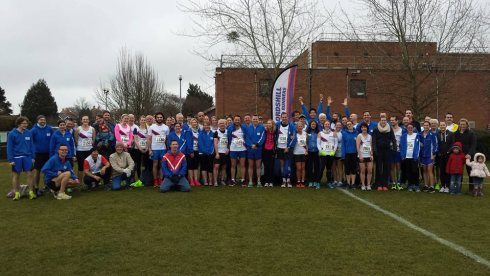 Lordshill Road Runners at Eastleigh 10k