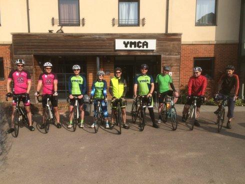 Start of Tour de Y Norfolk