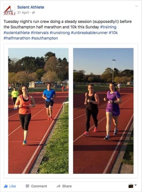 Solent Athlete 21st April