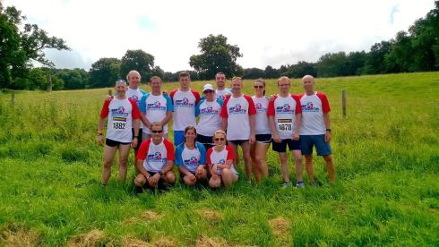 Thunder Run 2016 team mates