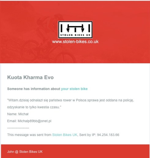 Email in Polish