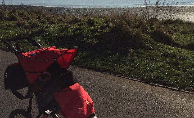 Baby M before Buggy Mums at Weston Shore