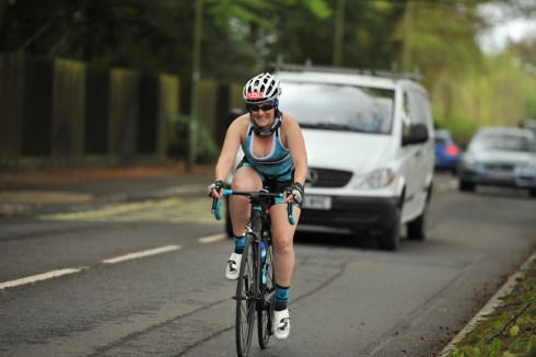 Winchester May day Tri - Tamsyn cycling