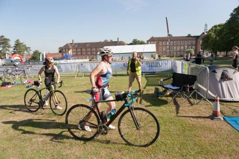 St Swithuns Tri bike 2