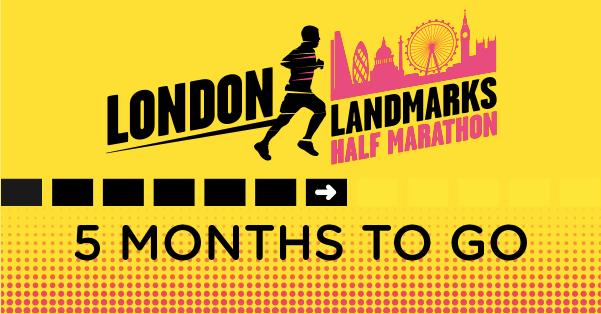London Landmarks Half Marathon 5 months to go image