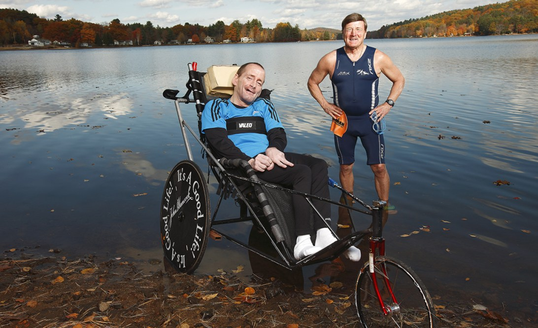 Rick and Dick Hoyt.