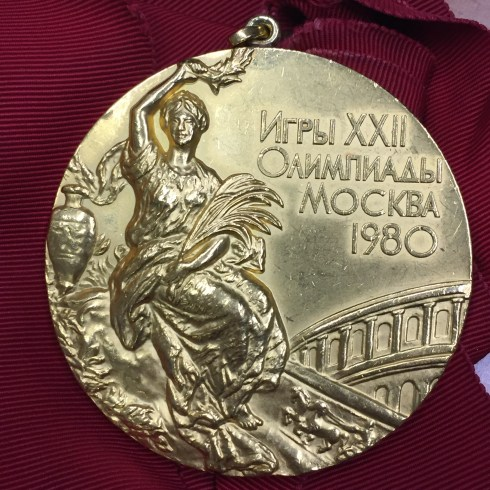 Duncan Goodhew's gold medal