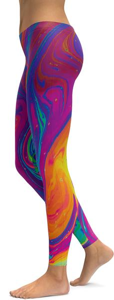 colourful splash GearBunch leggings