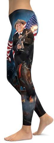 Ronald Reagan leggings.