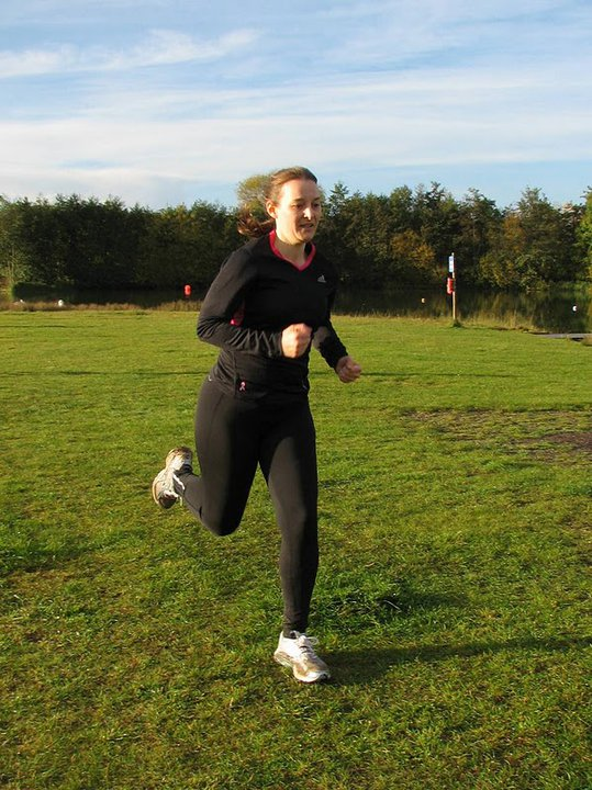 parkrunning in October 2010