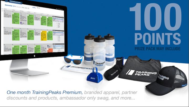 Training Peaks prize
