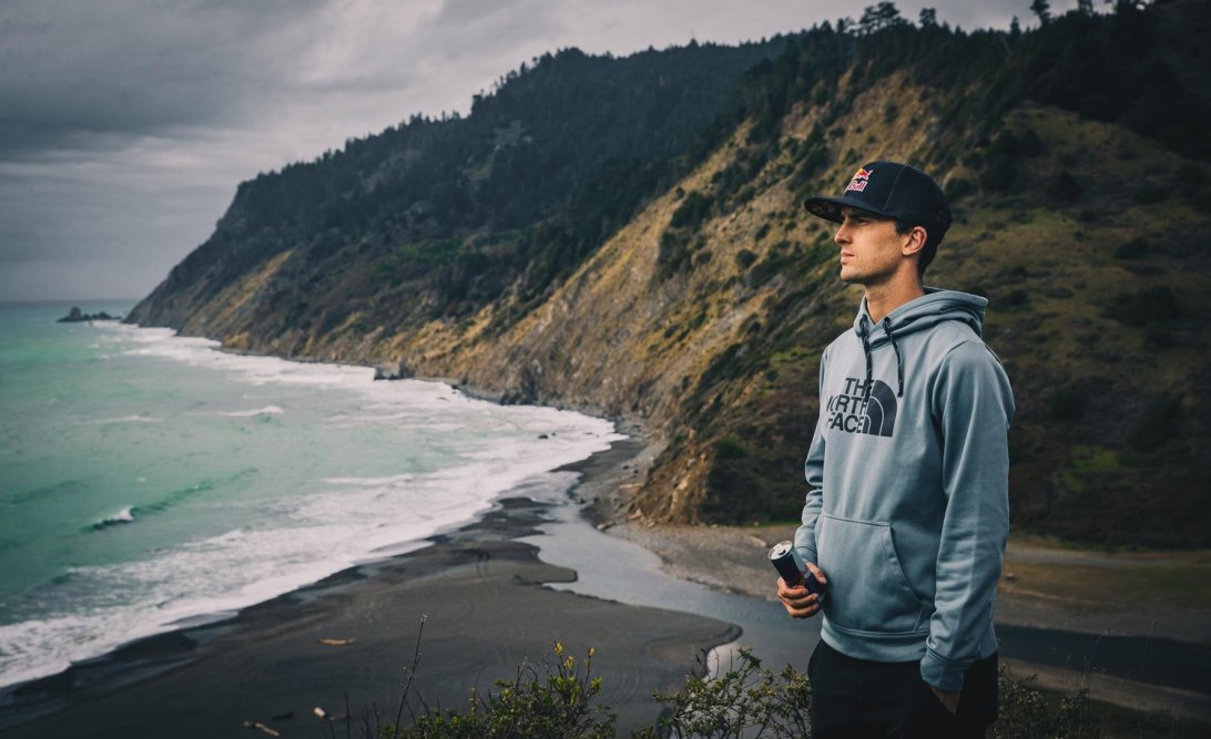 Dylan Bowman looks out over the ocean