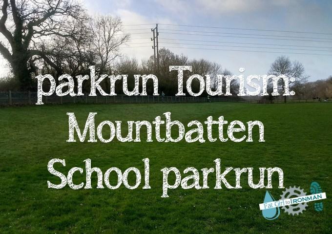parkrun Tourism: Mountbatten School parkrun superimposed over an image of the school field.