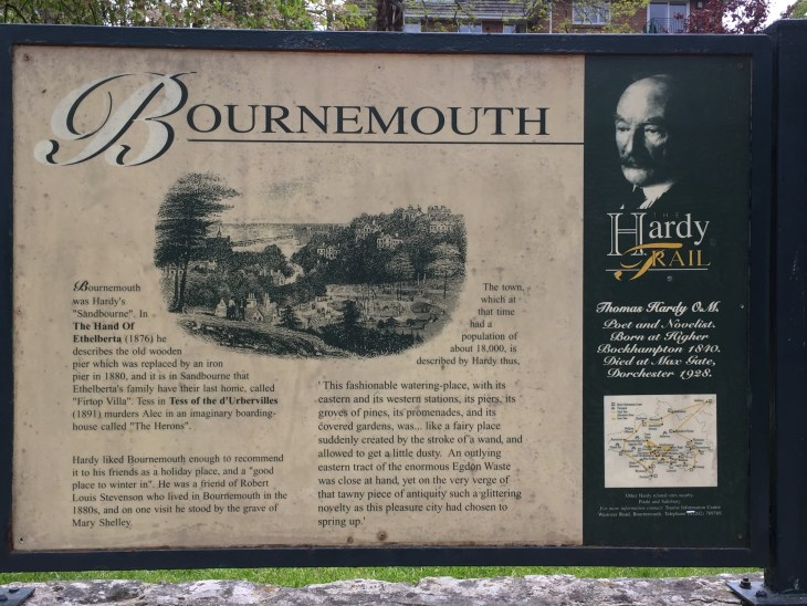 Information about Thomas Hardy's Bournemouth.