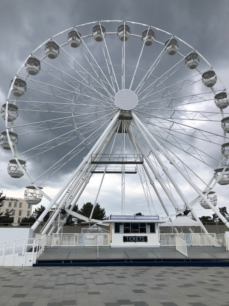 The observation wheel in Bournemouth.