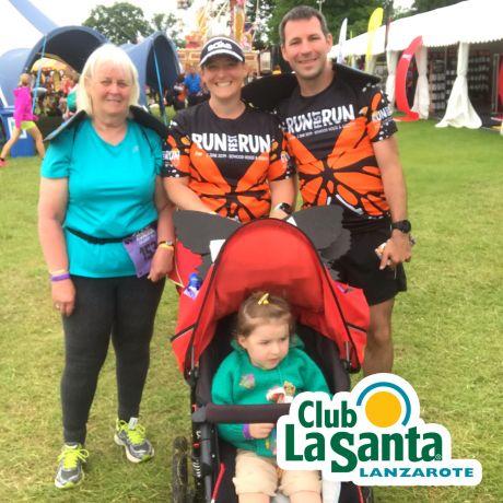 Sandra, Tamsyn, Stuart and M at RunFestRun.