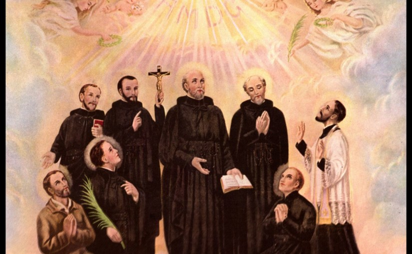 Ss. Isaac Jogues, John de Brébeuf and Companions, Martyrs
