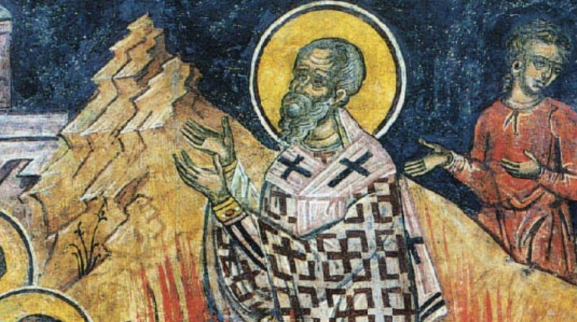 Saint Polycarp, bishop and martyr