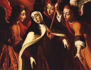 Transverberation of the heart of St Teresa of Avila