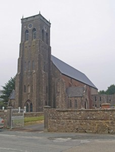 Ramsgrange Church in County Wexford. Completed in 1843. This is presumably the chapel Fr Doyle referred to.