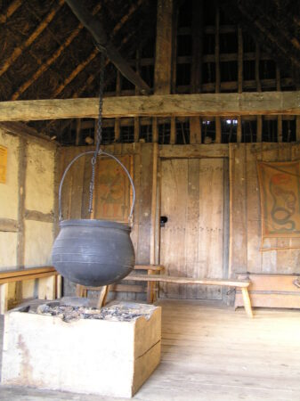 West Stow, reconstructed at the site of the original settlement, 420-650