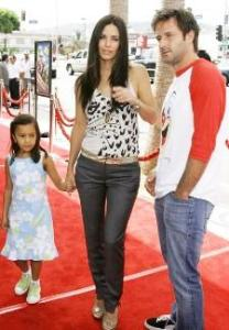 David Arquette, Courteney Cox and daughter, Coco