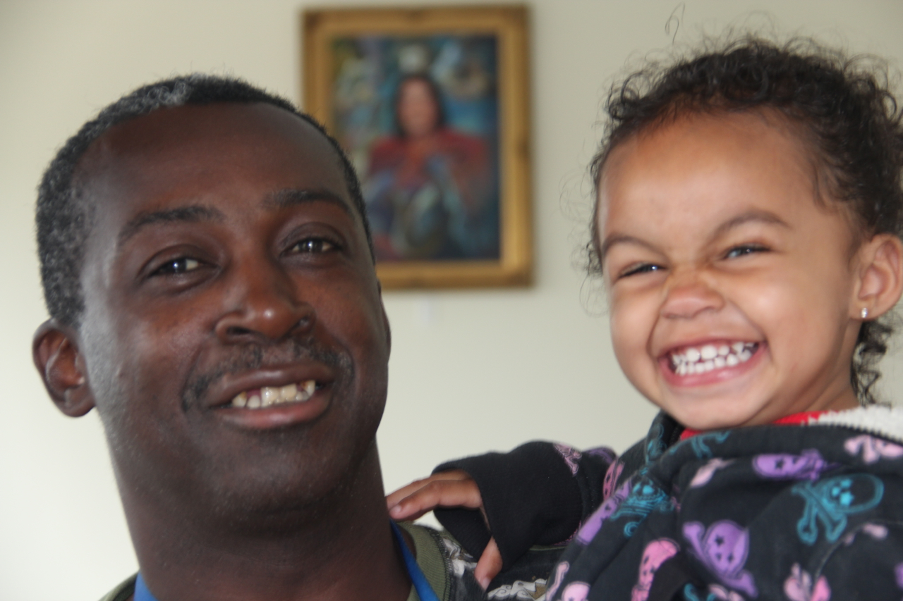 A daughter's smile inspires Veteran to rebuild his life