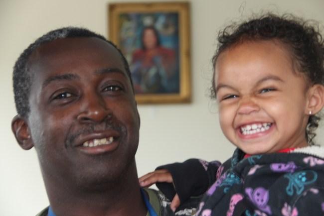 A daughter's smile inspires Veteran to rebuild his life