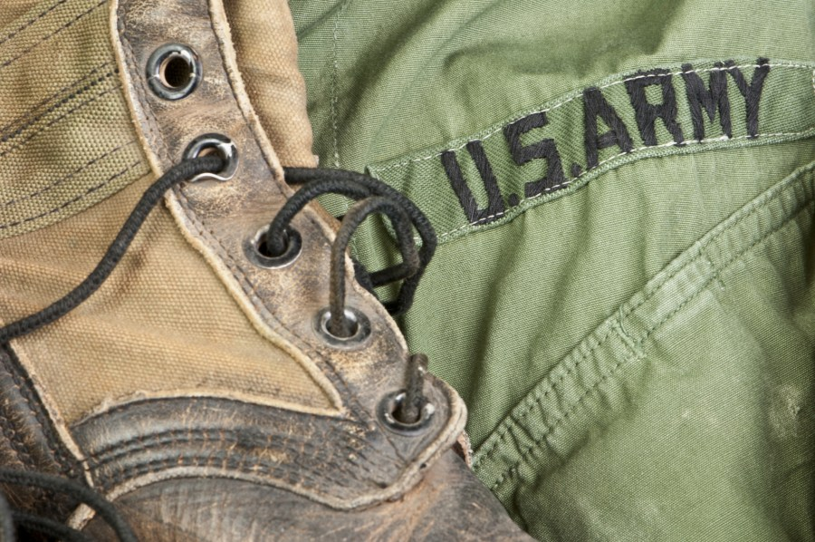 56 percent of Veterans served by Operation Sacred Trust's SSVF program served in the U.S. Army.