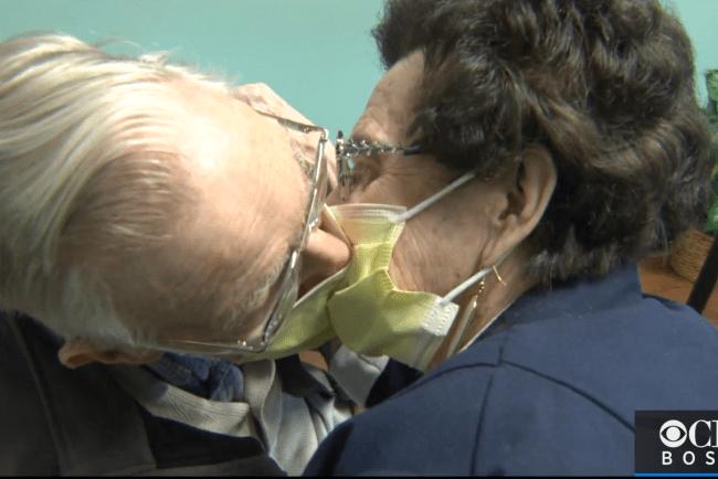 John and Kay Doyle Reiunited