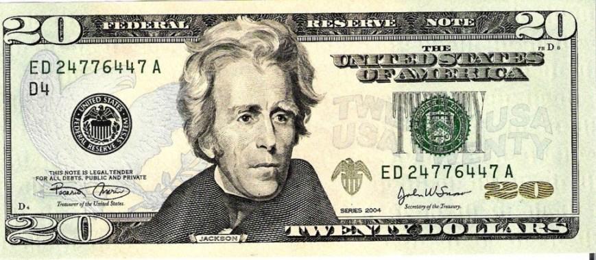 20 bill