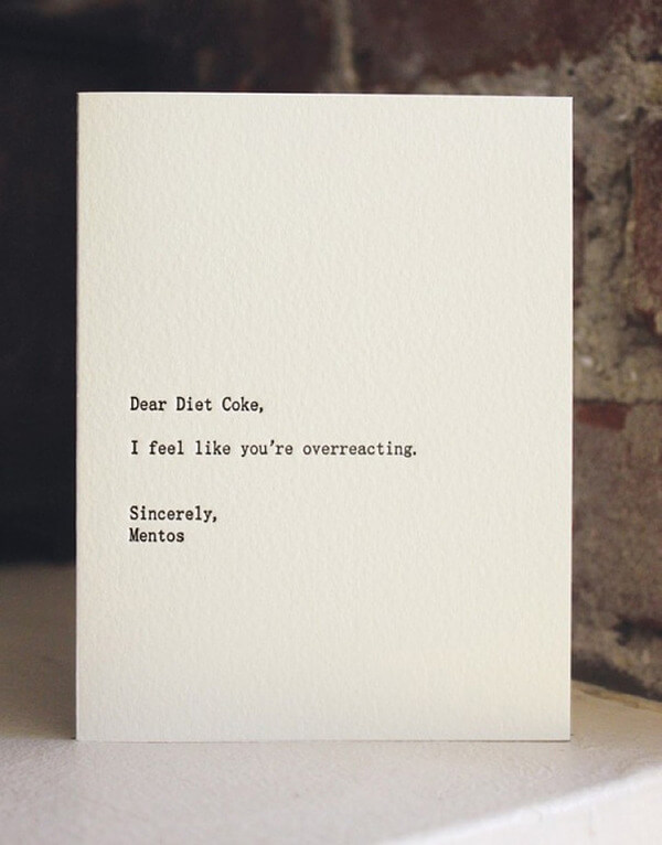 Dear-Diet-Coke