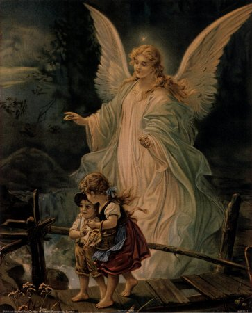 A Royal Nun and the Angels