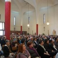 Messa di azione di grazia per il centenario delle apparizioni della Madonna a Fatima a Oriago (VE)-001