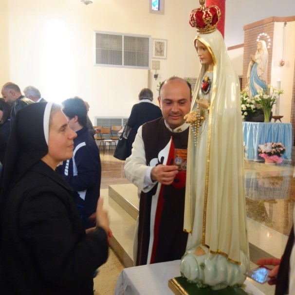 Messa di azione di grazia per il centenario delle apparizioni della Madonna a Fatima a Oriago (VE)