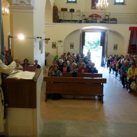 Madonna di Fatima, Pellegrina, Araldi del Vangelo, Parrocchia Santa Maria Assunta, Montemurro (PZ)-004