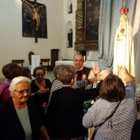 Madonna di Fatima, Pellegrina, Araldi del Vangelo, Parrocchia Santa Maria Assunta, Montemurro (PZ)-008