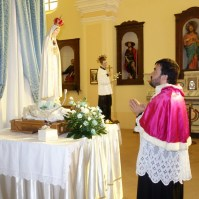 Madonna di Fatima, Pellegrina, Araldi del Vangelo, Parrocchia Santa Maria Assunta, Montemurro (PZ)-023