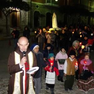 01-La Madonna di Fatima a Montaperto (AV) , Araldi del Vangelo