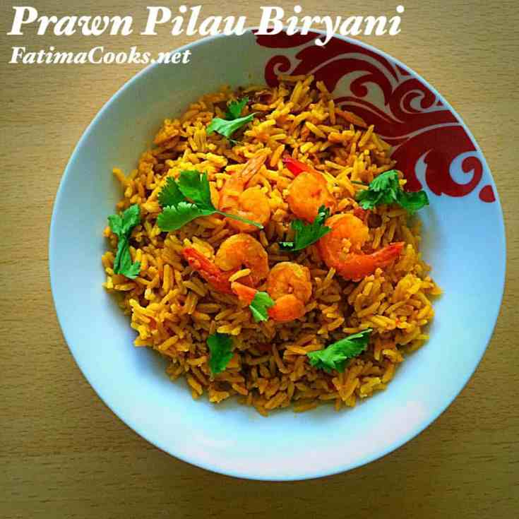 Prawn Pilau Biryani Rice