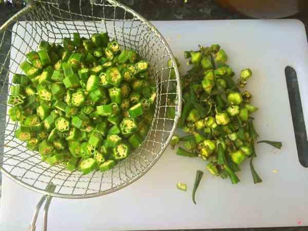 Bhindi - Pakistani Okra/Lady Fingers - Fatima Cooks