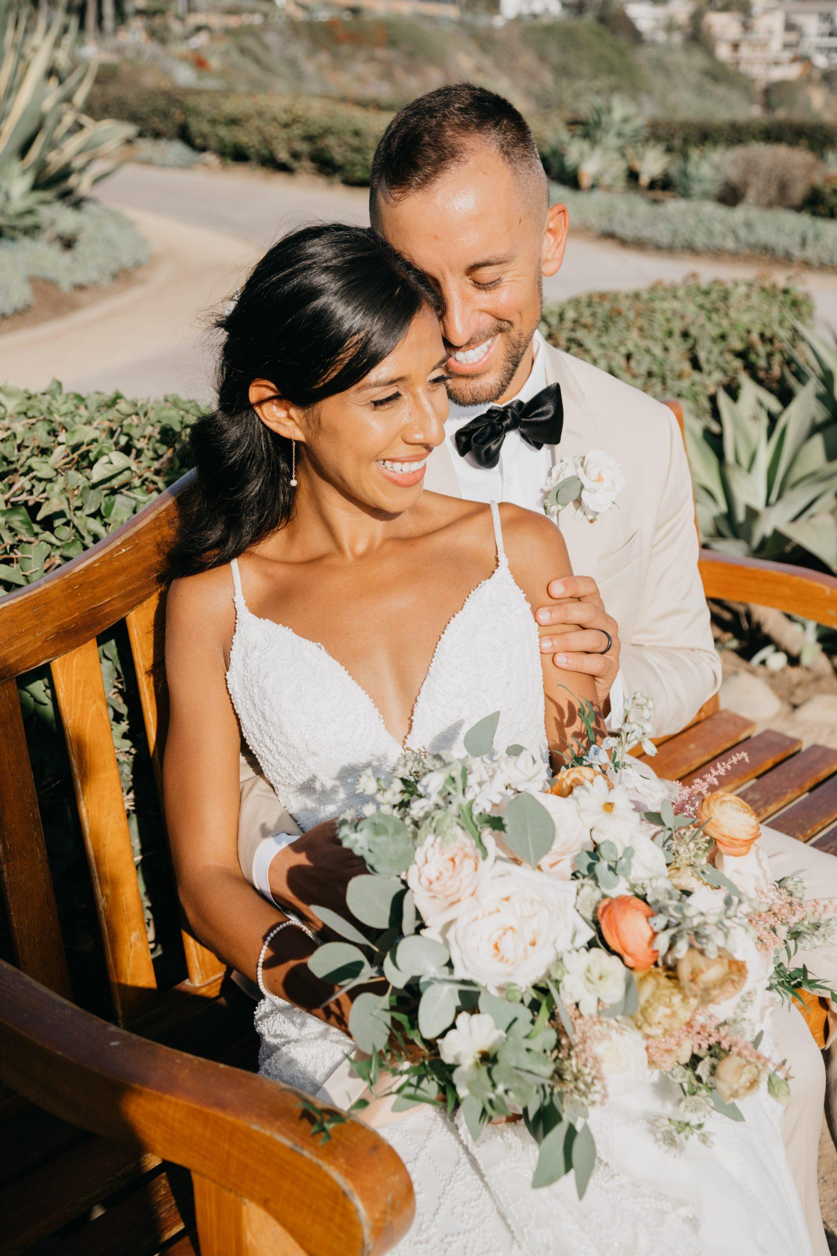 Bridal Portraits at Laguna Beach, image by Fatima Elreda Photo