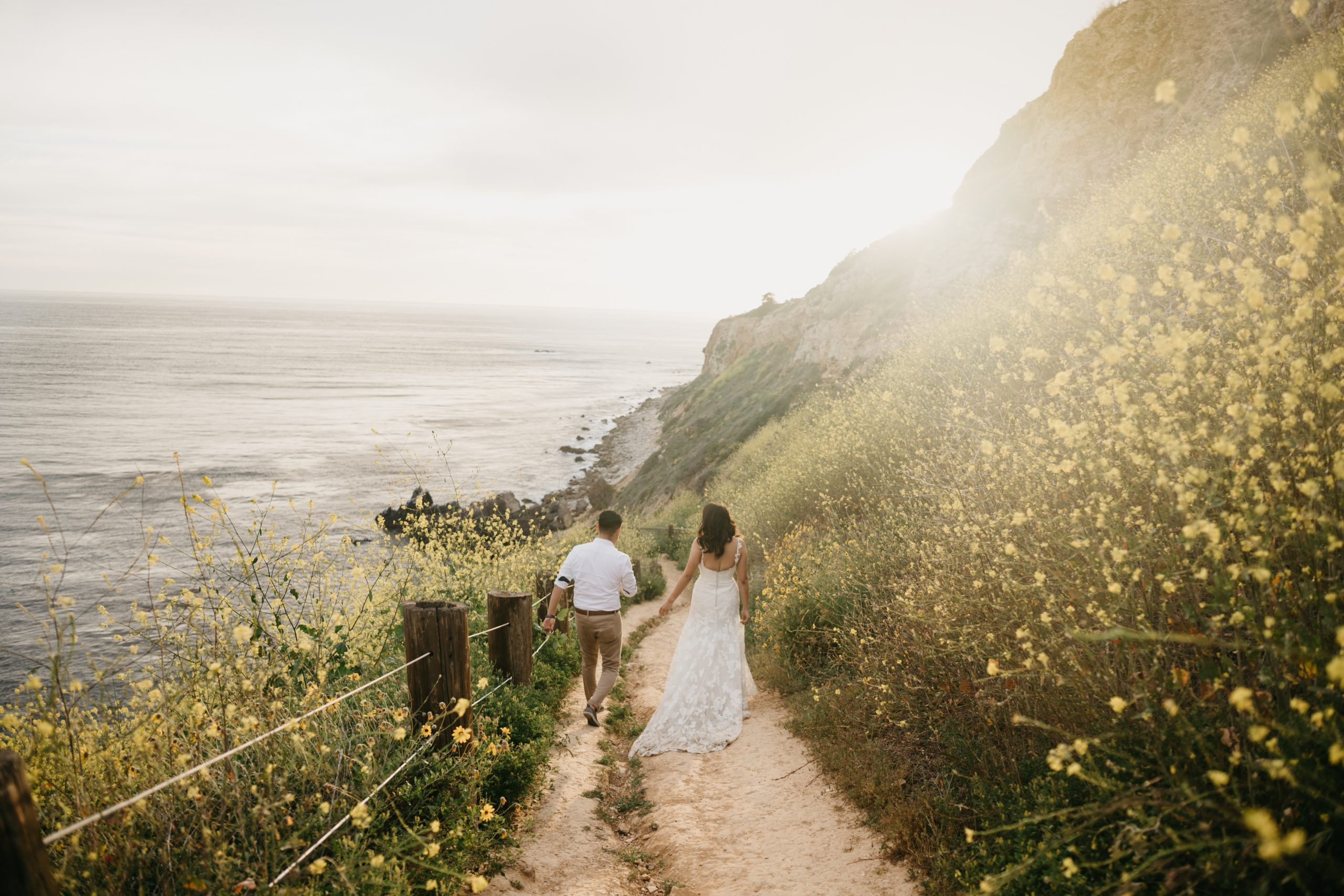 Sunset Bridals at the Beach, image by Fatima Elreda Photo