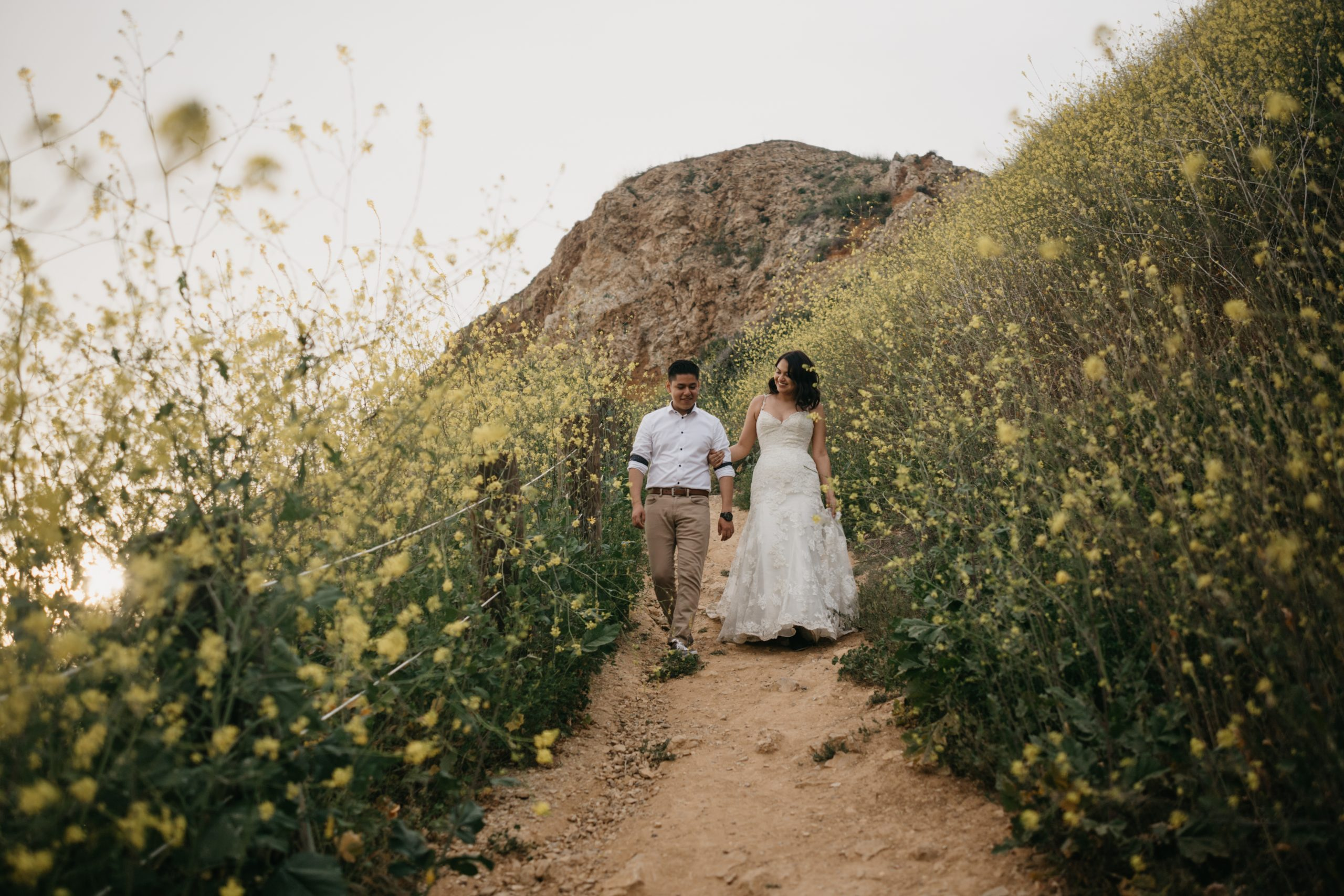 Palos Verdes Coast Bridals, Trash the Dress Session, image by Fatima Elreda Photo